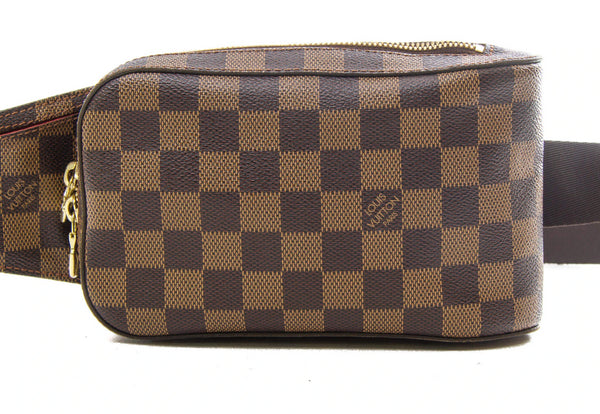 Pre-loved authentic Louis Vuitton Geronimos Damier sale at jebwa