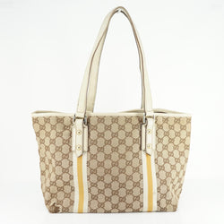 Gucci Tote Bag Brown Canvas