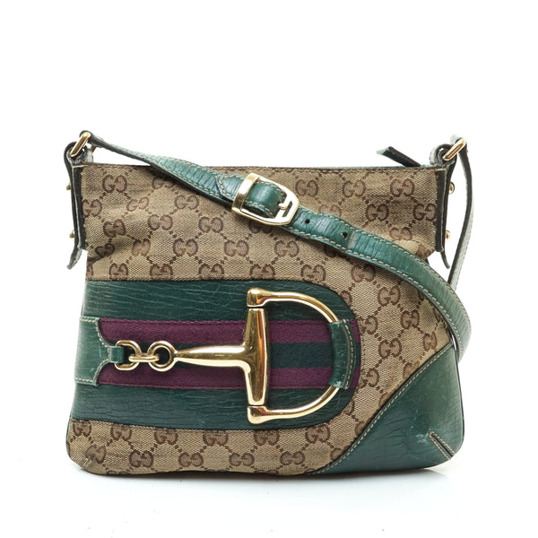 Gucci Horsebit Crossbody Bag Green