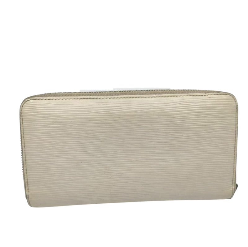 Pre-loved authentic Louis Vuitton Zippy Wallet White sale at jebwa.