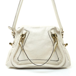 Chloe Paraty Shoulder Bag Leather