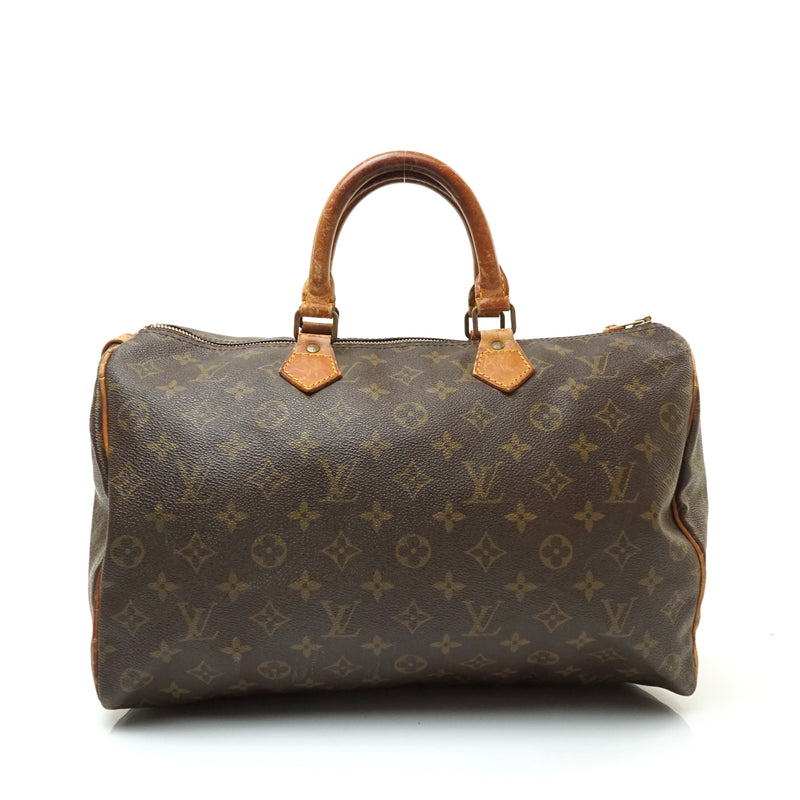 Pre-loved authentic Louis Vuitton Speedy 35 Hand Bag sale at jebwa.