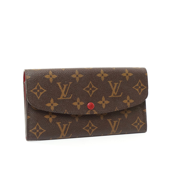 Pre-loved authentic Louis Vuitton Portefeuille Emilie sale at jebwa