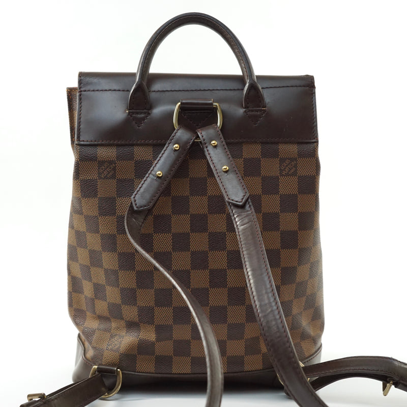 Pre-loved authentic Louis Vuitton Soho Backpack Brown sale at jebwa.