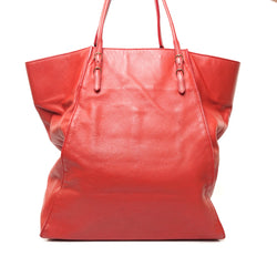 Pre-loved authentic Balenciaga Tote Bag Red Leather sale at jebwa.