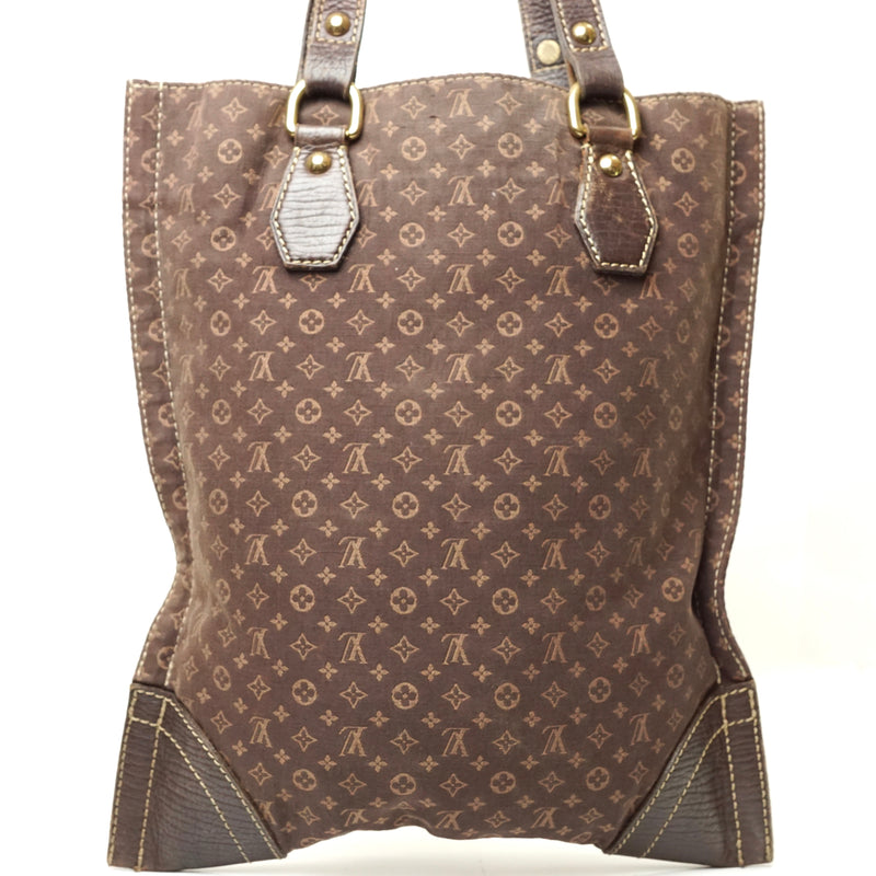 Pre-loved authentic Louis Vuitton Tanger Tote Bag Brown sale at jebwa