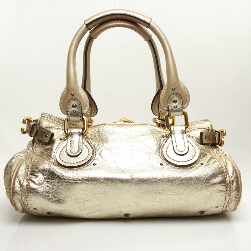 Pre-loved authentic Chloe Paddington Shoulder Bag sale at jebwa.