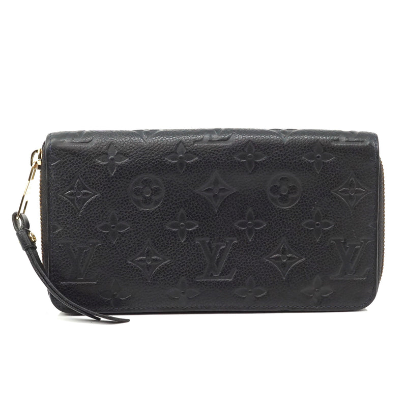 Pre-loved authentic Louis Vuitton Empreinte Zippy sale at jebwa.