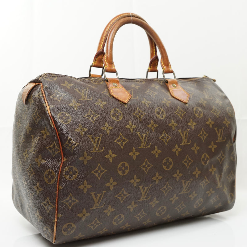 Pre-loved authentic Louis Vuitton Speedy 35 Satchel Bag sale at jebwa.