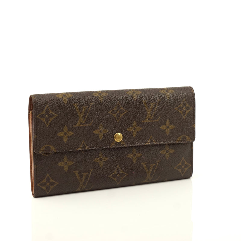 Pre-loved authentic Louis Vuitton Pochette Monnaie Long sale at jebwa.