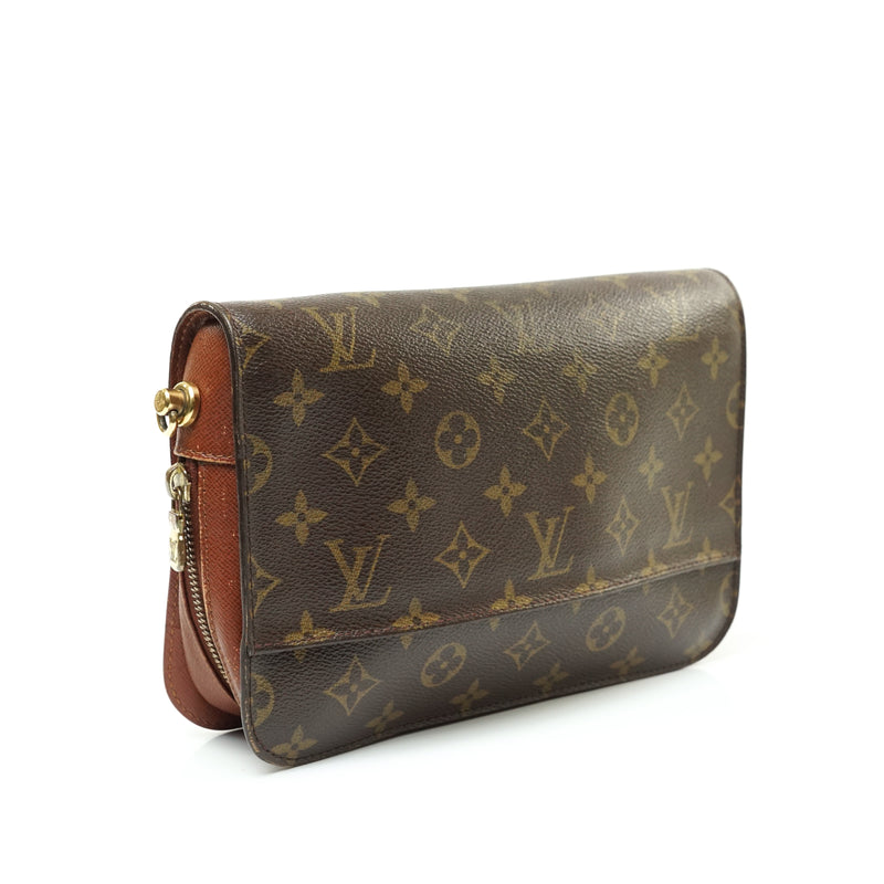 Pre-loved authentic Louis Vuitton Orsay Clutch Bag sale at jebwa.