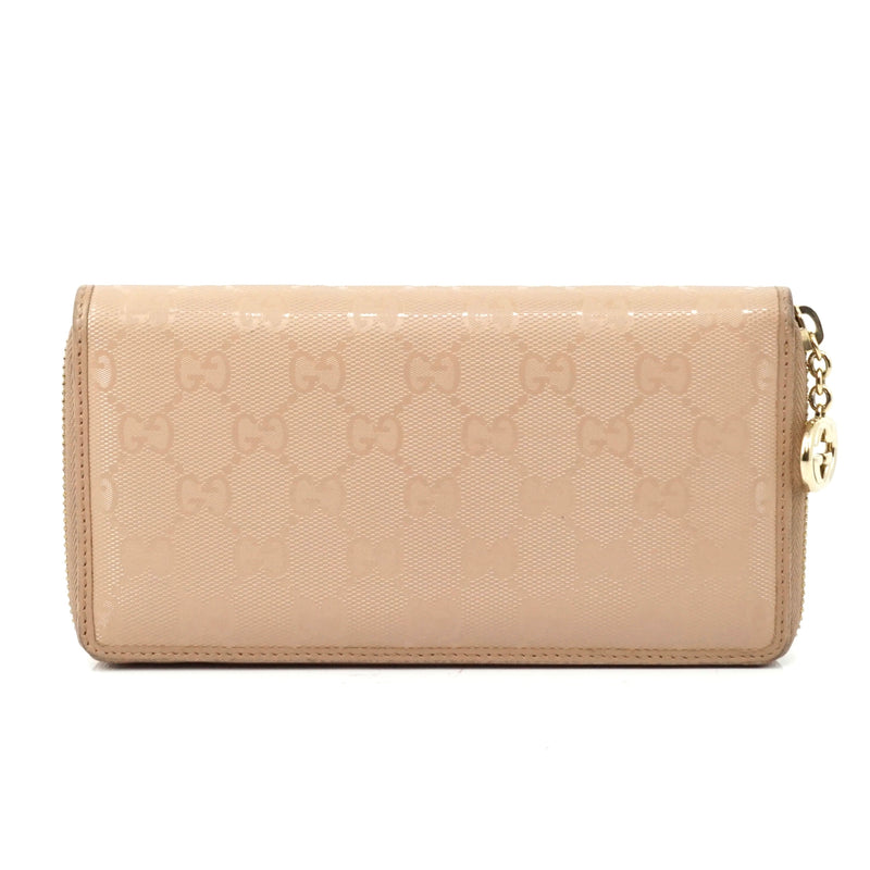 Pre-loved authentic Gucci Zippy Wallet Beige Coated sale at jebwa.