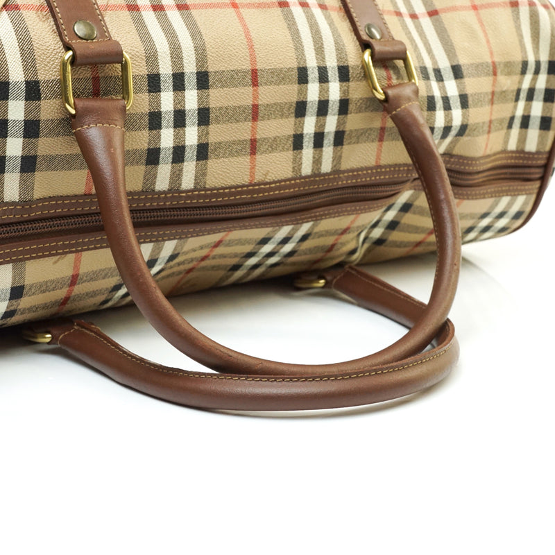 Burberry Travel Boston Bag Light