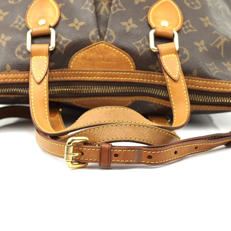 Pre-loved authentic Louis Vuitton Palermo Pm Tote Bag sale at jebwa.