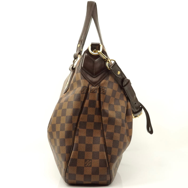 Pre-loved authentic Louis Vuitton Evora Gm Damier Ebene sale at jebwa