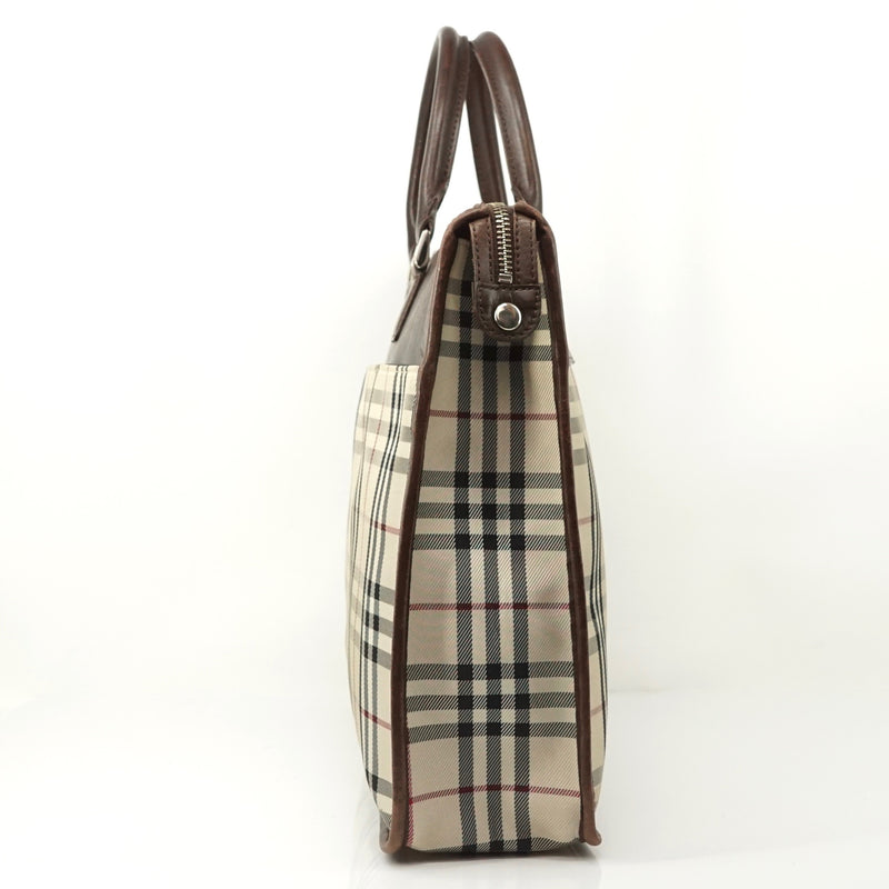 Pre-loved authentic Burberry Nova Check Beige Nylon sale at jebwa