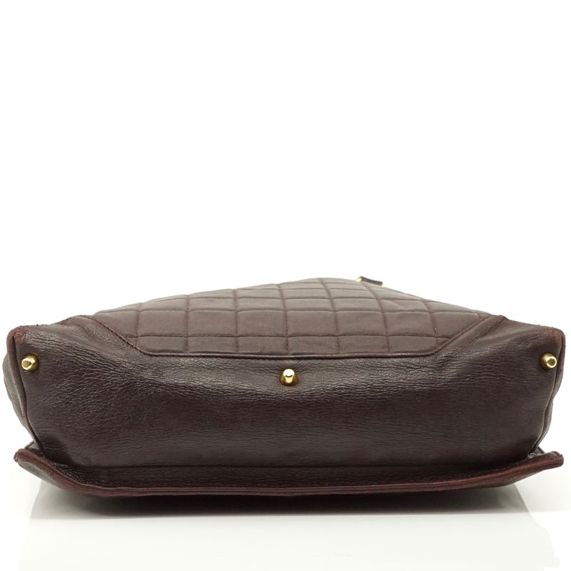 Pre-loved authentic Chanel Shoulder Bag Brown Leather sale at jebwa