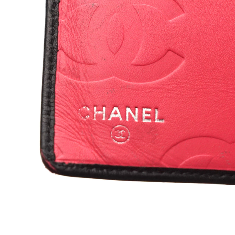 Pre-loved authentic Chanel Long Wallet Black Leather sale at jebwa.