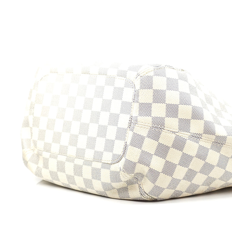Pre-loved authentic Louis Vuitton Salina White Damier sale at jebwa