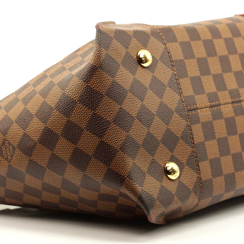 Pre-loved authentic Louis Vuitton Caissa Damier Ebene sale at jebwa
