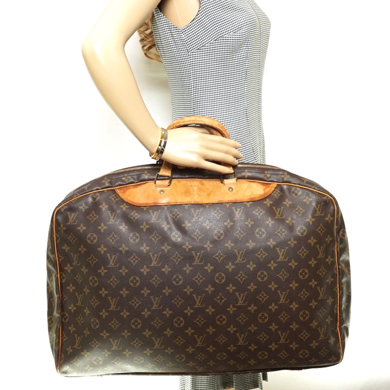 Pre-loved authentic Louis Vuitton Alize Travel Bag sale at jebwa