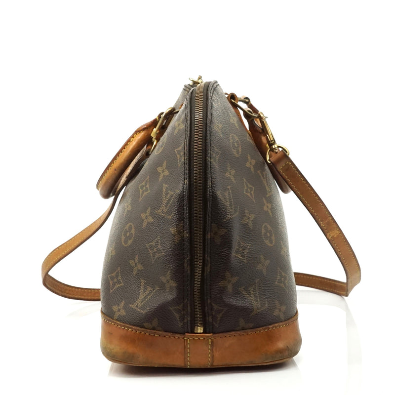 Pre-loved authentic Louis Vuitton Alma Brown sale at jebwa