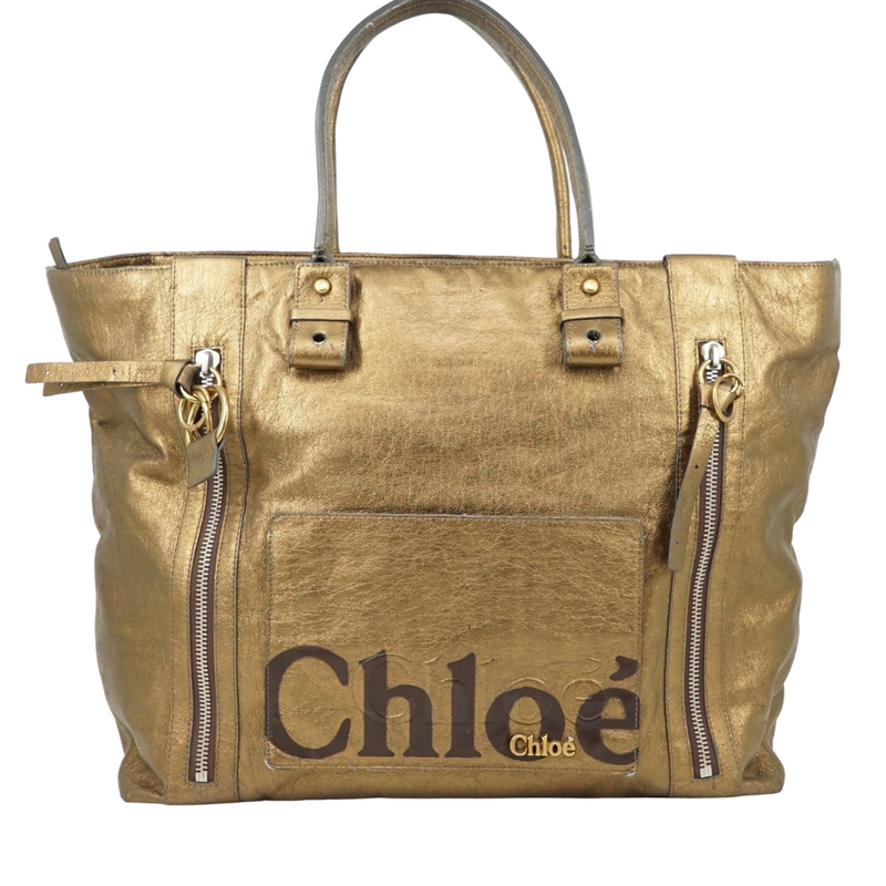 Chloe Eclipse Bronze Tote Shoulder