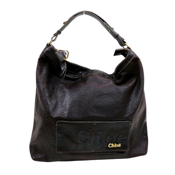Chloe Dark Brown Shoulder Bag