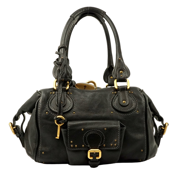 Chloe Paddington Hand Bag Black