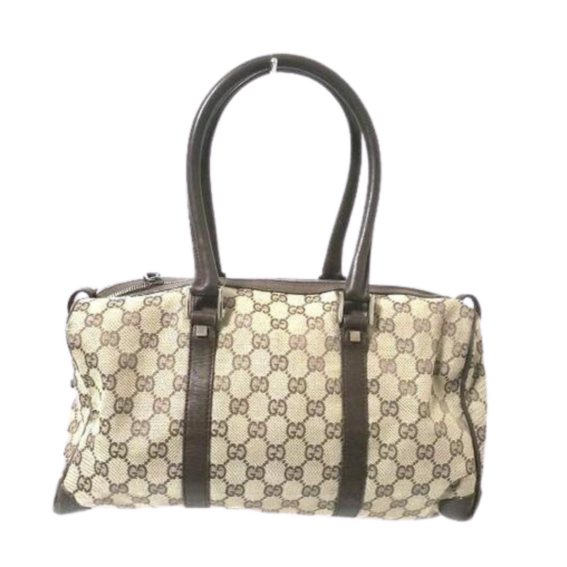 Gucci Gg Beige Dark Brown Jacquard