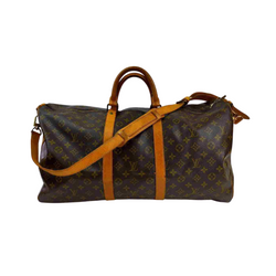 Pre-loved authentic Louis Vuitton Keepall 55 sale at jebwa