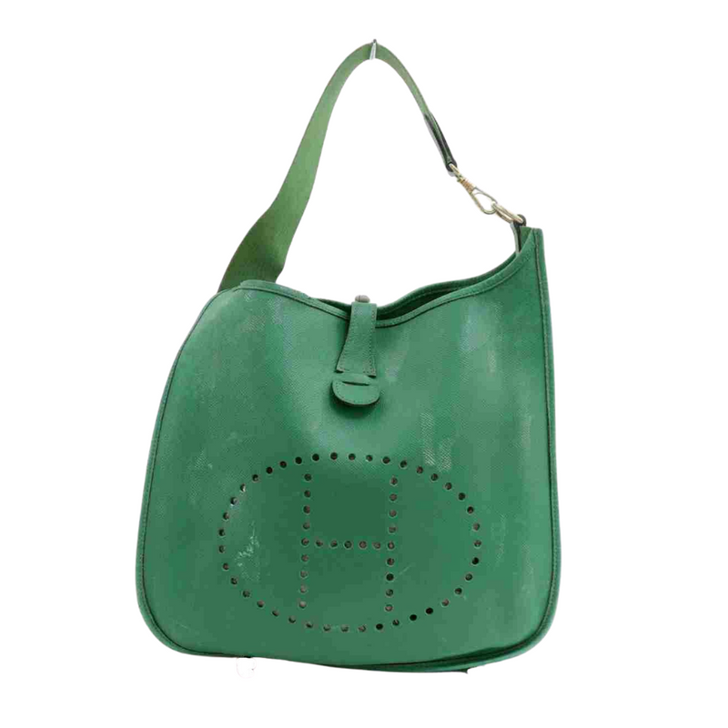 Hermes Evelyne Crossvody Bag Green