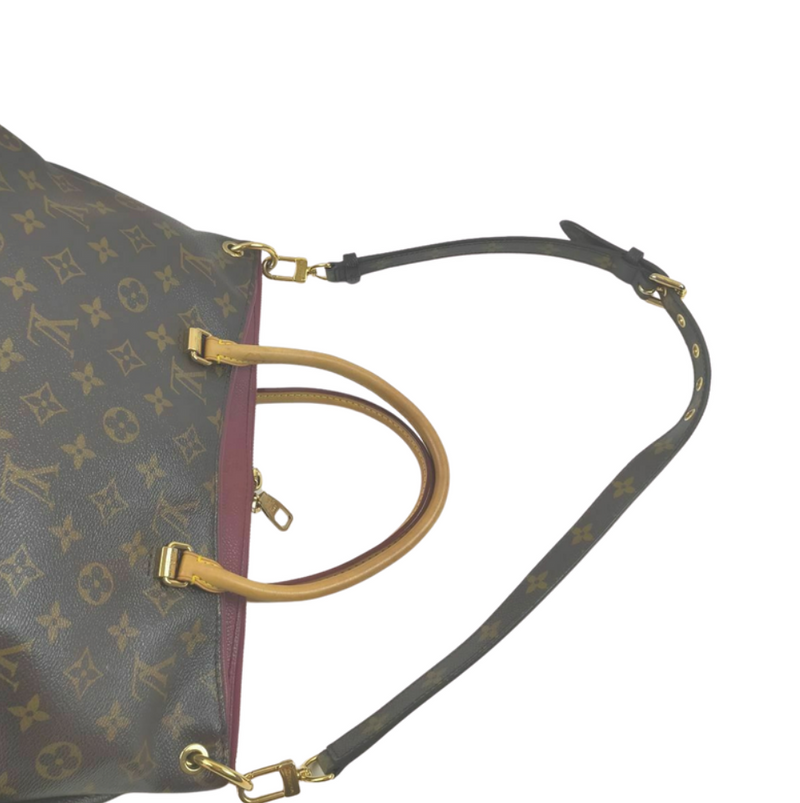 Pre-loved authentic Louis Vuitton Pallas Shoulder Bag sale at jebwa.