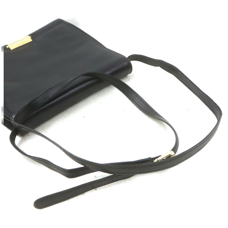 Fendi Crossbody Bag Leather Black