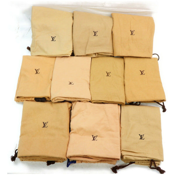 Pre-loved authentic Louis Vuitton Brown Cotton Dust Bag sale at jebwa