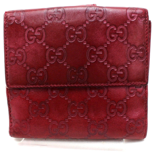 Gucci Guccissima Small Burgundy