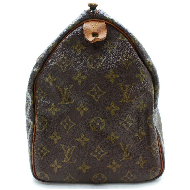 Pre-loved authentic Louis Vuitton Speedy 35 Boston sale at jebwa