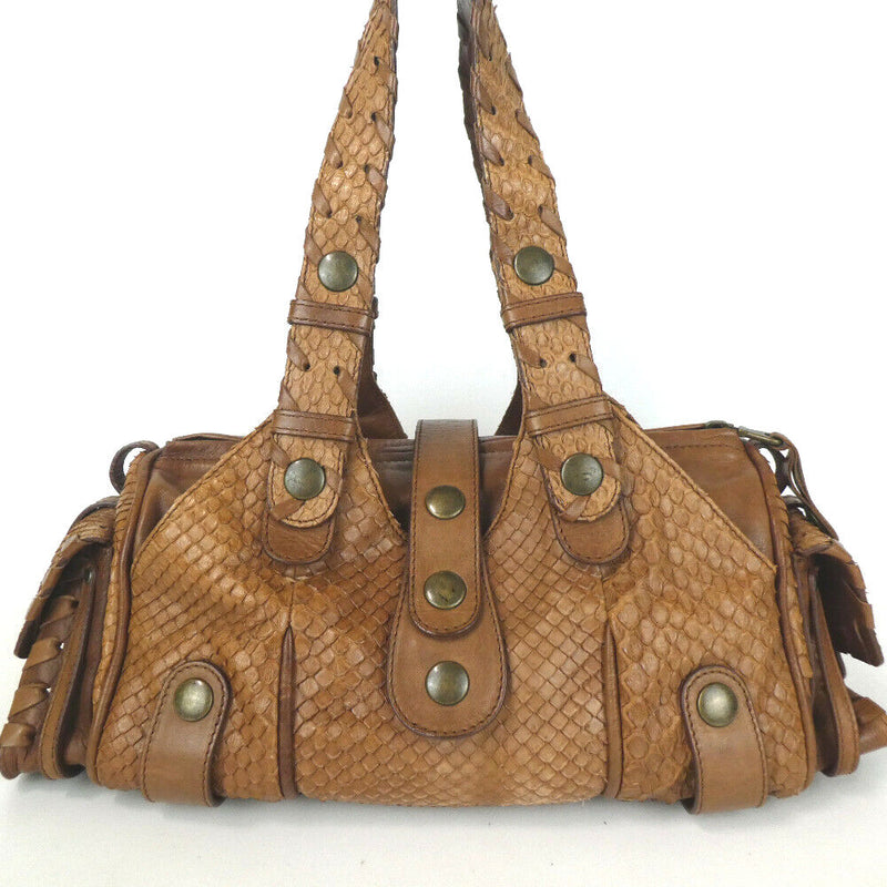 Pre-loved authentic Chloe Leather Shoulder Bag sale at jebwa