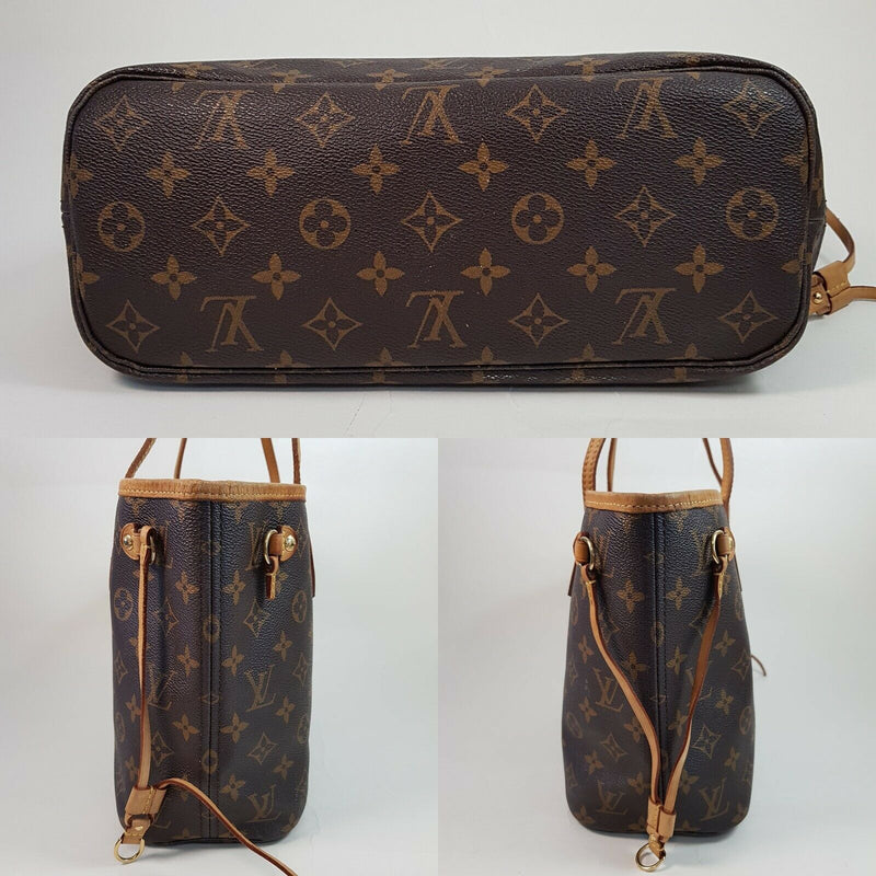 Pre-loved authentic Louis Vuitton Neverfull Pm Shoulder sale at jebwa