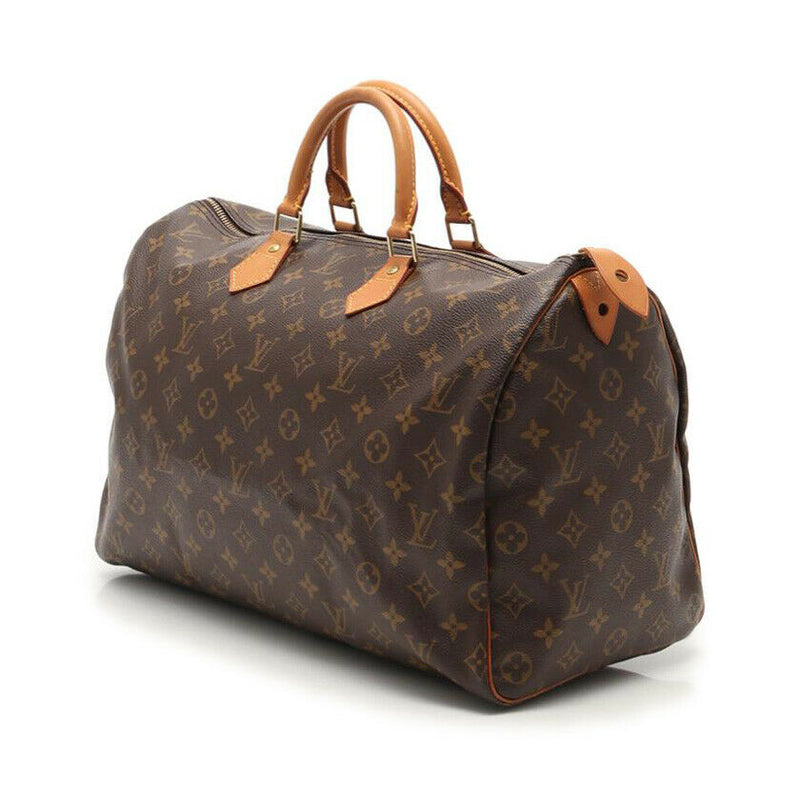 Pre-loved authentic Louis Vuitton Speedy 40 Monogram Handbag sale at jebwa