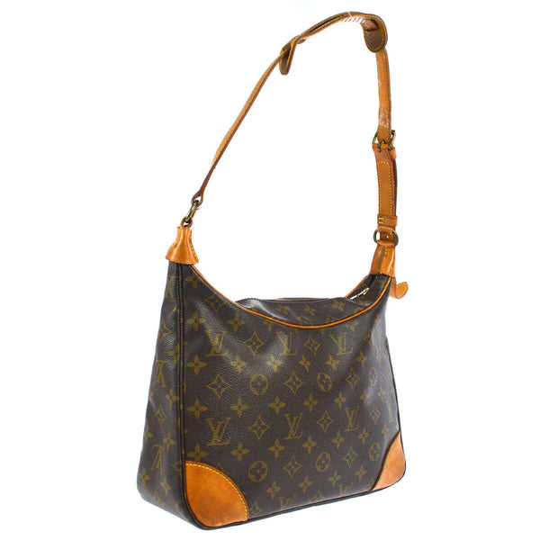 Pre-loved authentic Louis Vuitton Boulogne 30 Shoulder Bag sale at jebwa