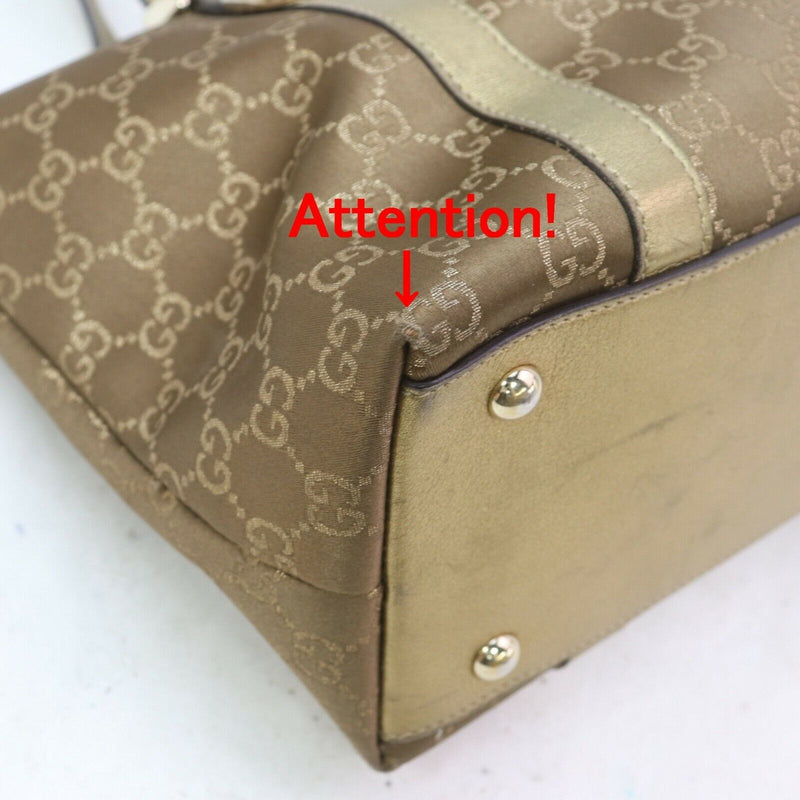 Pre-loved authentic Gucci Tote Bag Brown sale at jebwa
