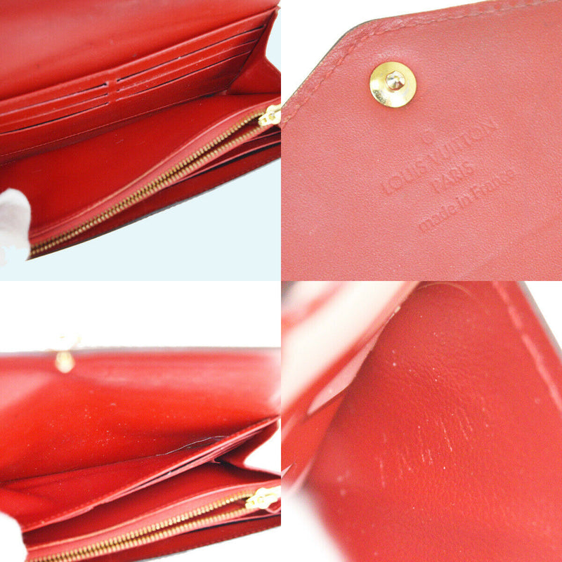 Pre-loved authentic Louis Vuitton Porte Sara Patent sale at jebwa
