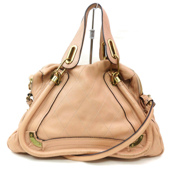 Pre-loved authentic Chloe Paraty Shoulder Bag Pink sale at jebwa