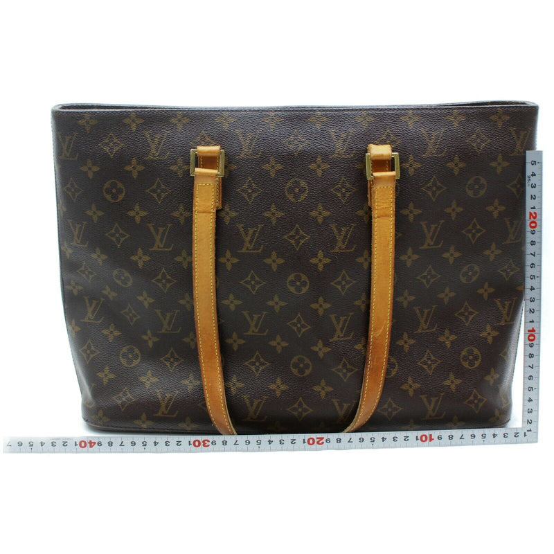 Pre-loved authentic Louis Vuitton Tote Bag Luco Brown sale at jebwa