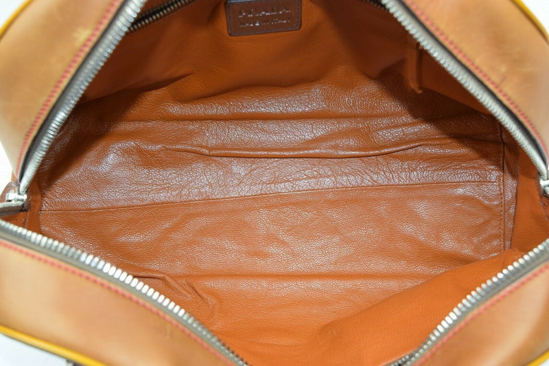 Pre-loved authentic Prada Shoulder Bag Brown Leather sale at jebwa