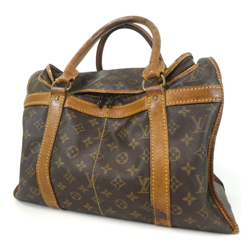 Pre-loved authentic Louis Vuitton Sac 40 Shoe Bag Brown sale at jebwa