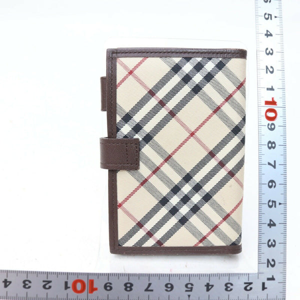 Pre-loved authentic Burberry Diary Cover Wallet Beige sale at jebwa