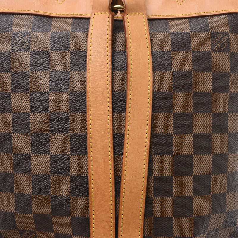 Pre-loved authentic Louis Vuitton Brown Backpack sale at jebwa