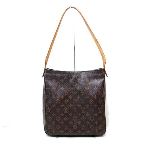 Pre-loved authentic Louis Vuitton Looping Gm Bag Brown sale at jebwa